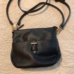 International Concepts Black Crossbody Bag